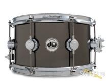 DW 7x13 Collectors Black Nickel over Brass Snare Drum