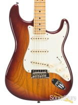 Fender 2014 American Standard Strat Sienna Burst - Used