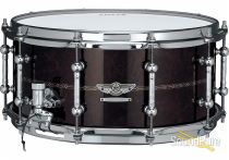Tama 6.5x14 Star Reserve Snare Drum-Walnut/Bubinga Vol.3