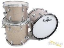 Rogers Holiday Drum Set-Dayton Era 13,16,20 Silver Sparkle