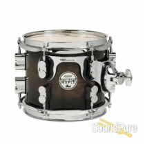 PDP 7x8 Concept Maple Exotic Rack Tom Drum Charcoal Burst