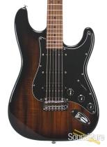 Suhr Custom Classic Figured Koa 2-Tone Burst HSS #JS3H9F