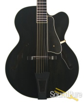 """Bourgeois 1995 A-250 Trans Black 17"""" Archtop - Used"""