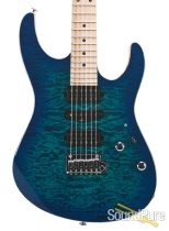 Suhr Custom Modern Aqua Blue Burst Electric #JS3K8H