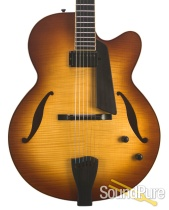 Sadowsky LS-17 Honey Burst Archtop #A928 - Used