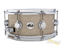 DW 6.5x13 Collectors Series Maple Snare Drum - Broken Glass