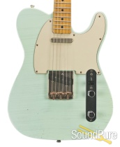 Mario Guitars T-Style Sonic Blue Relic #517252