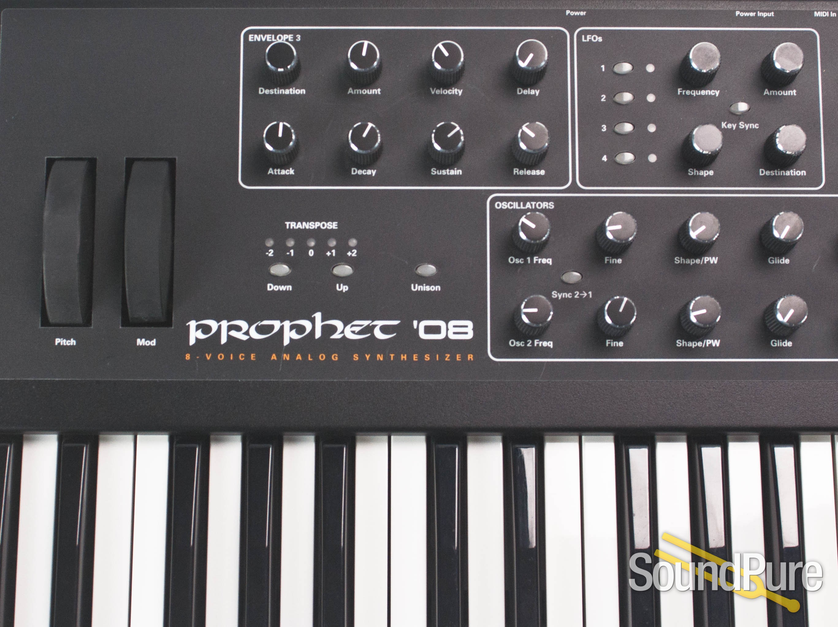 dave smith instruments prophet 08 keyboard for ipad. Black Bedroom Furniture Sets. Home Design Ideas