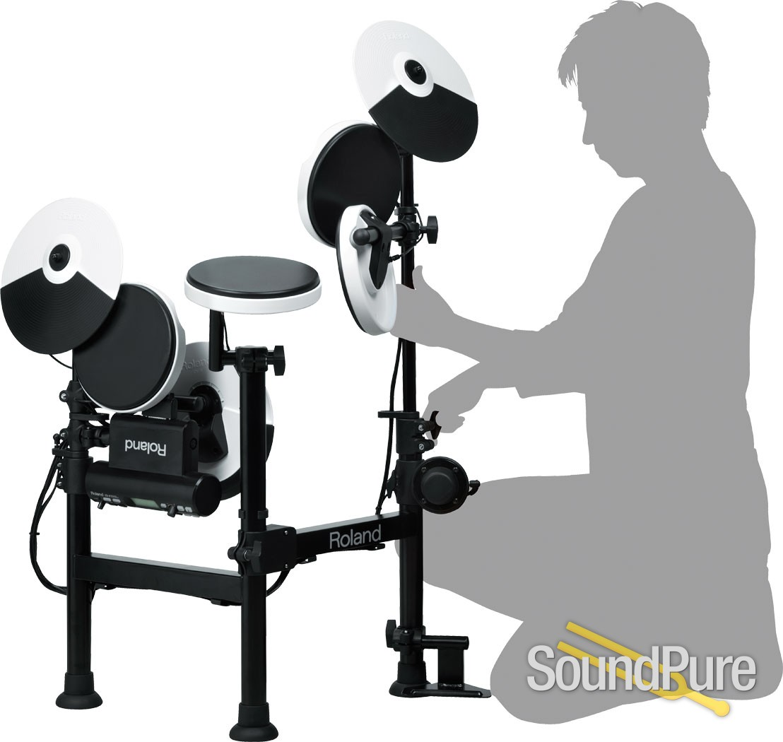 Roland TD-4KP V-Drums Electronic Drum Set   Soundpure com