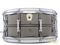 Ludwig 6.5X14 Hammered Black Beauty Snare Drum-Tube