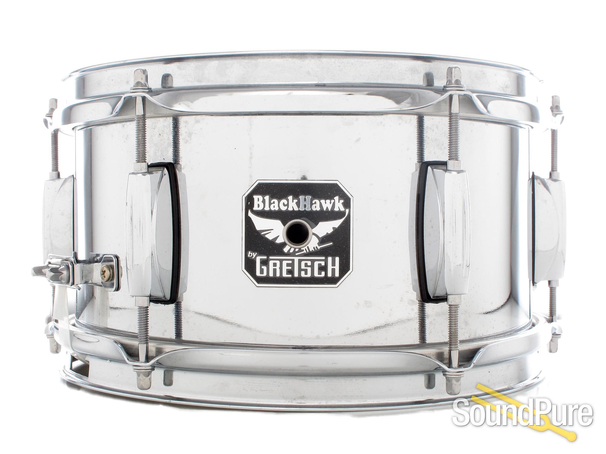 Gretsch 6x10 Blackhawk Steel Snare Drum | Soundpure.com