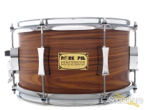 Pork Pie 7x13 Maple Snare Drum Rosewood Satin