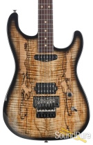 Luxxtone El Machete Geode Black Burst H - S Electric #233