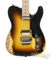 Luxxtone T Luxx Tobacco Burst Electric #0216
