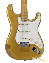 1982 Fender Shoreline Gold Stratocaster #V000726 - Used