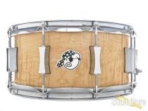 Pork Pie 6.5x14 Walnut Ply w/ Maple Rings Snare Drum