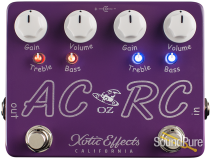 Xotic Effects USA AC/RC-OZ Boost/Overdrive Effect Pedal