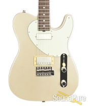 Michael Tuttle Tuned ST Satin Shoreline Gold Electric #449