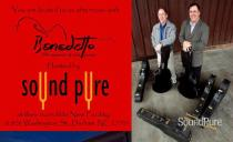 Bob Benedetto Visits Sound Pure Dec. 13 w/ Unique Guitars and Live Jazz