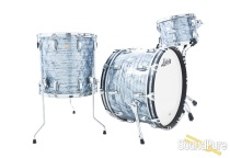 Ludwig 3pc Classic Maple Fab Drum Set Sky Blue Pearl