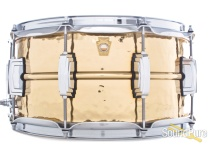 Ludwig 6.5x14 Hammered Bronze Phonic Snare Drum