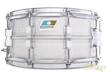 Ludwig 6.5x14 Hammered Acrolite Snare Drum-Chrome
