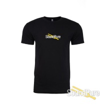 Sound Pure Branded T-Shirt Black - Medium