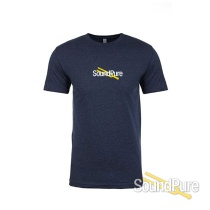 Sound Pure Branded T-Shirt Midnight Navy - Extra Large