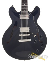 Collings I-35 LC Jet Black Semi Hollow Electric #181046