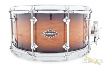Craviotto 6.5x14 Cherry Custom Snare Drum-Black Burst