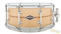 Craviotto 5.5x14 Maple Custom Snare Drum-Inlay