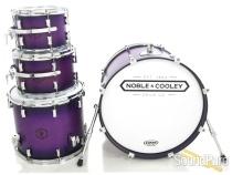 Noble & Cooley 4pc Horizon Drum Set-Purple Burst Matte