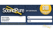 Sound Pure $100 Gift Certificate