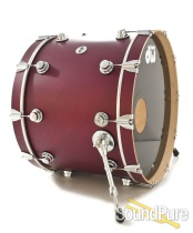 DW 17x23 Collectors Maple Bass Drum-Cherry Satin Oil