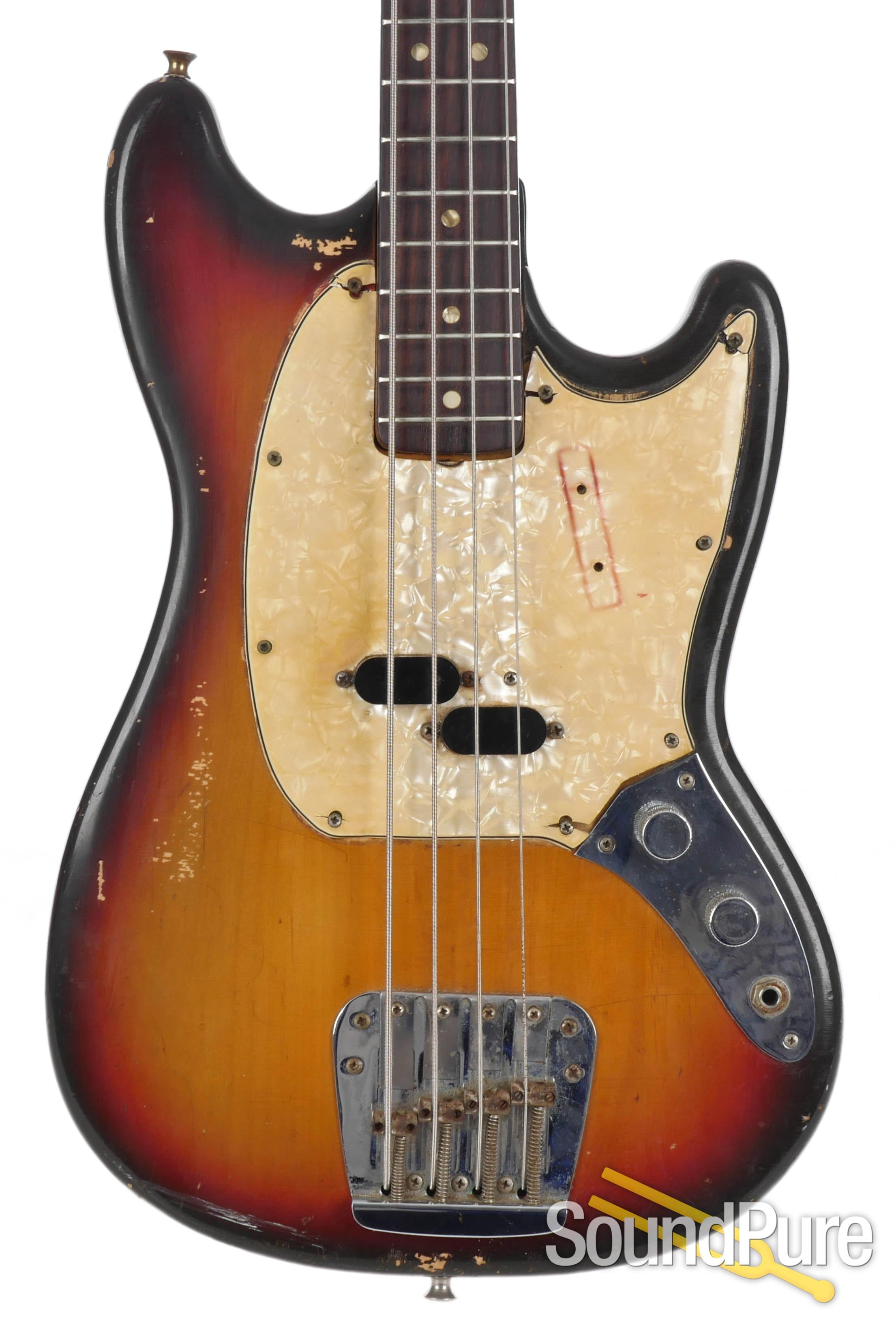 Fender 1972 Vintage Mustang Bass 325673 Used