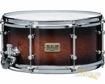 Tama 6.5x14 SLP Kapur Snare Drum-Black Kapur Burst