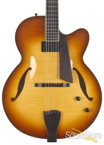 Sadowsky LS-17 Honey Burst Archtop #A1400