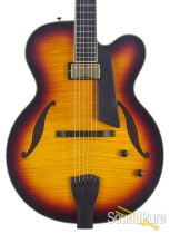 Sadowsky Jim Hall Model Tobacco Burst Archtop #A1596