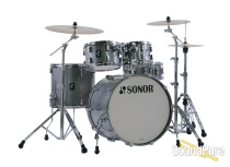 Sonor 5pc AQ2 Studio Drum Set - Titanium Quartz
