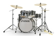 Sonor 5pc AQ2 Studio Drum Set - Transparent Black