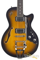 Duesenberg Starplayer TV Sunburst 2 Tone Electric #172469