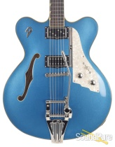 Duesenberg Fullerton Elite Catalina Blue Semi-Hollow #171316