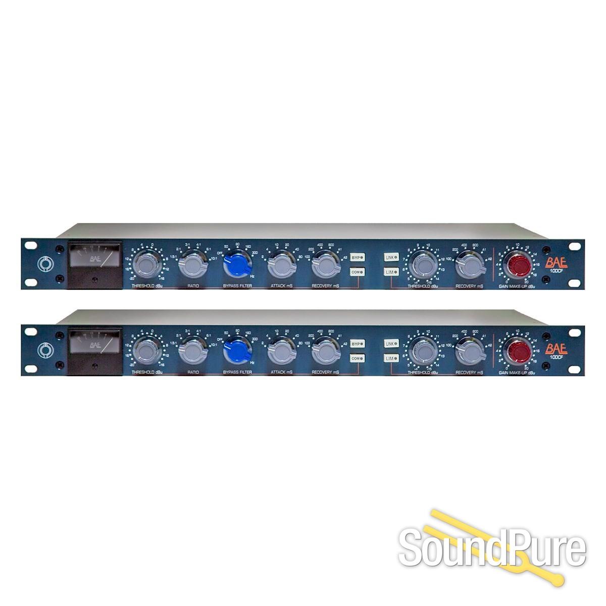 BAE 10DCF Compressor/Limiter (Stereo Pair) | Soundpure com