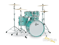 Gretsch 4pc Renown Drum Set - Turquoise Sparkle - RN2-E8246