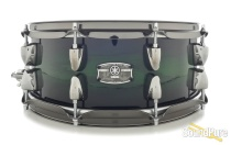 Yamaha 5.5x14 Live Custom Snare Drum - Emerald Shadow Burst