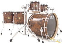 Pork Pie 5pc Walnut Roots Maple Drum Set-Natural Satin