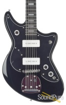 Eastwood Fireball Black Electric Guitar #1700113