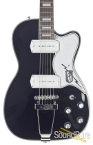 Eastwood Airline Tuxedo Black Electric Guitar #1700008
