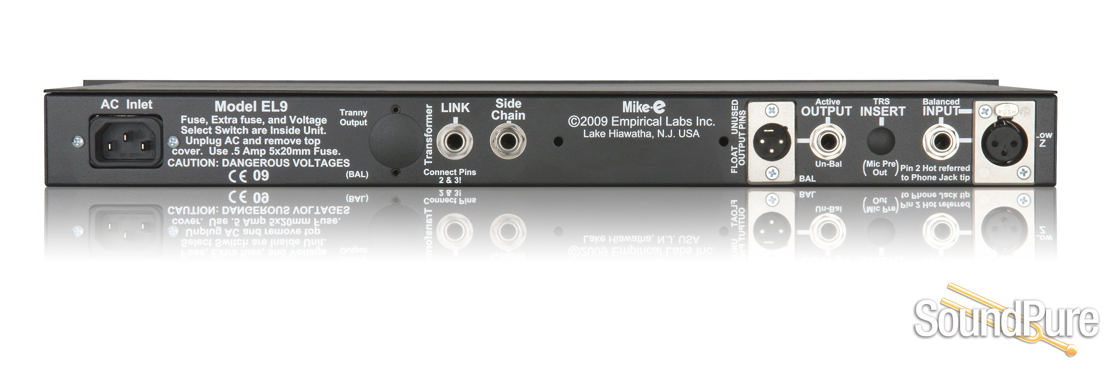 Empirical Labs Mike E Channel Strip Preamp Compressor Electric Guitar Pre Amplifier With Noise Gate And Compression Circuit From