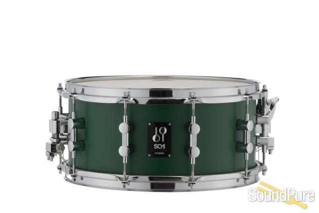 Sonor 6 5x14 Sq1 Snare Drum Roadster Green Soundpure Com